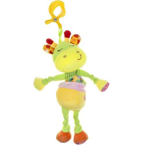AKUKU Plyšová hračka s hracím strojkem Akuku žirafka
