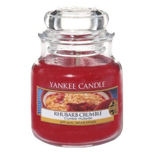Yankee Candle Svíčka ve skleněné dóze , Rebarborový crumble, 104 g