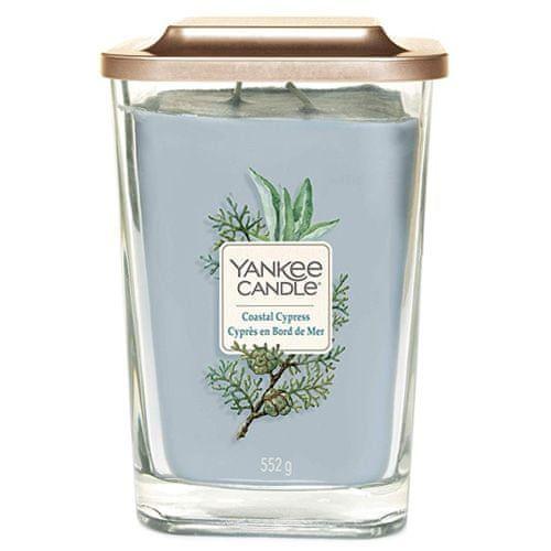 Yankee Candle Svíčka ve skleněné váze , Pobřežní cypřiš, 552 g