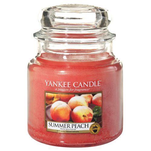 Yankee Candle Svíčka ve skleněné dóze , Letní broskev, 410 g