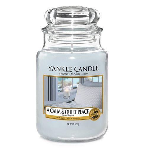 Yankee Candle Svíčka ve skleněné dóze , Klidné a tiché místo, 623 g