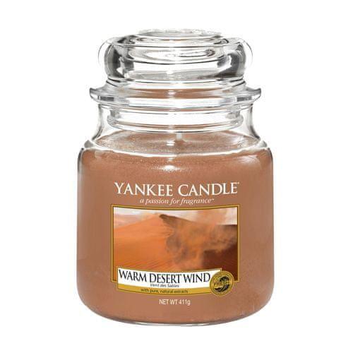 Yankee Candle Svíčka ve skleněné dóze , Teplý pouštní vítr, 410 g