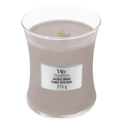 Woodwick Svíčka oválná váza , Mystický kouř, 275 g