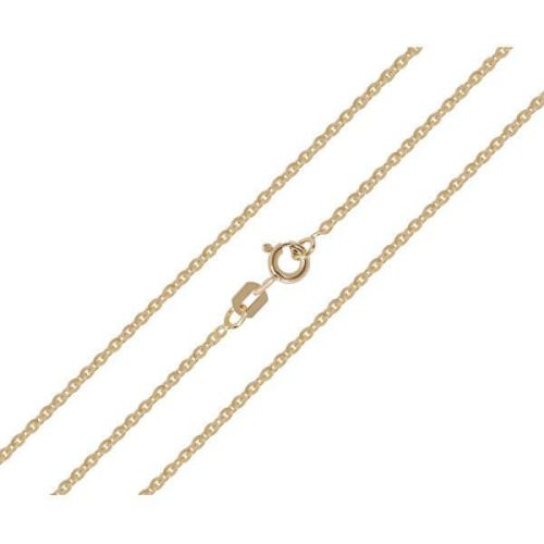 Brilio Pěkný zlatý řetízek 50 cm 271 115 00369