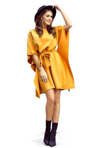 Numoco Dámské šaty 287-1, medová, L/XL