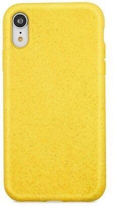 Forever Zadní kryt Bioio pro iPhone XS Max žlutý, GSM093962