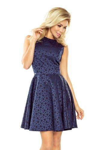 Numoco Dámské šaty 125-22, tmavě modrá, XL