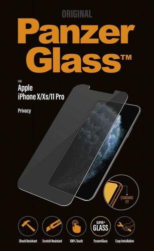 PanzerGlass Edge-to-Edge Privacy pro Apple iPhone Xs Max/11 Pro Max černé, P2666