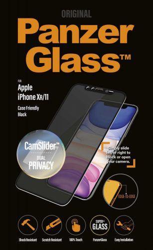 PanzerGlass Edge-to-Edge Privacy pro Apple iPhone Xs Max/11 Pro Max černé s CamSlider , P2669