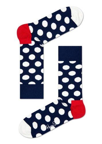 Happy Socks unisex ponožky Big Dot Sock BD01-608 36 - 40 tmavě modrá
