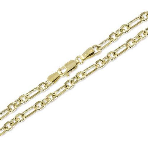 Brilio Zlatý řetízek pro muže 55 cm 271 115 00319