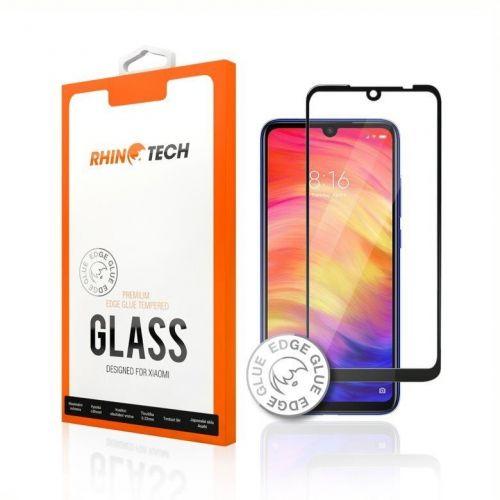 RhinoTech 2 Tvrzené ochranné 2,5D sklo pro Xiaomi Redmi Note 8 (Edge Glue) RTX060, černá