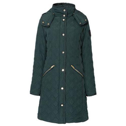 Desigual Dámská bunda Padded Leicester Emerald 19WWEWC4 4116 (Velikost 36)