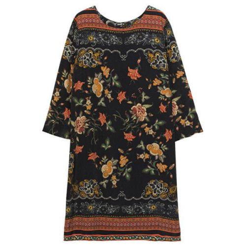 Desigual Dámské šaty Vest Praga Negro 19WWVW46 2000 (Velikost 36)