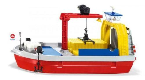 SIKU SIKU World - Loď přepravující kontejnery