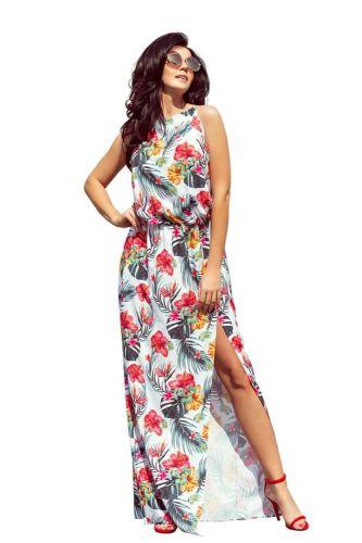 Numoco Dámské šaty 191-4, vícebarevné, S