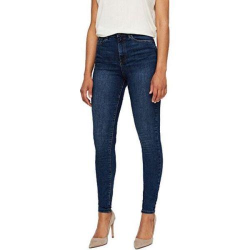 Vero Moda Dámské skinny džíny VMSOPHIA 10193326 Medium Blue Denim (Velikost L/32)