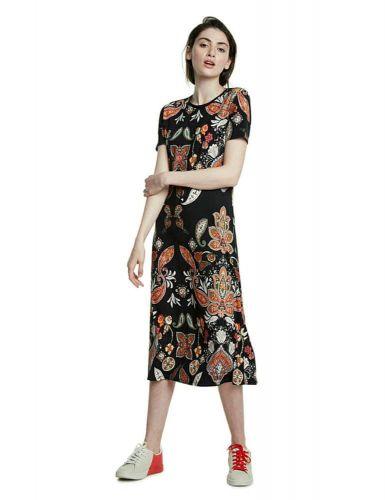 Desigual dámské šaty Misuri 20SWVK97 S černá