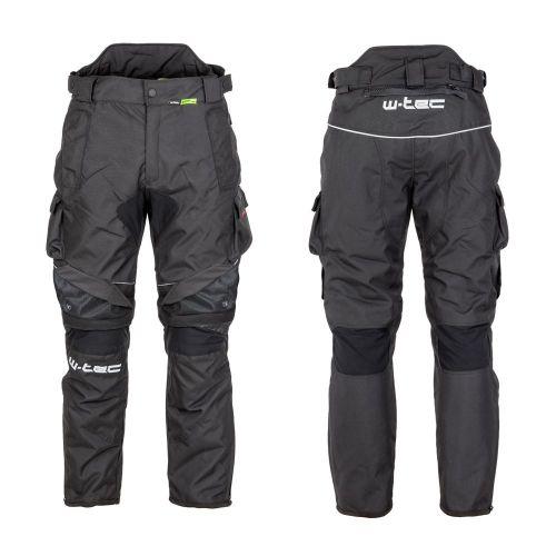 W-TEC Pánské moto kalhoty Thollte - barva Black, velikost S