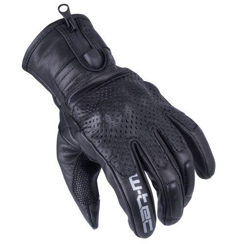 W-TEC Pánské moto rukavice Swaton - barva černá, velikost S