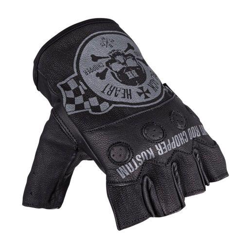 W-TEC Moto rukavice na chopper Black Heart Wipplar - barva černá, velikost XS