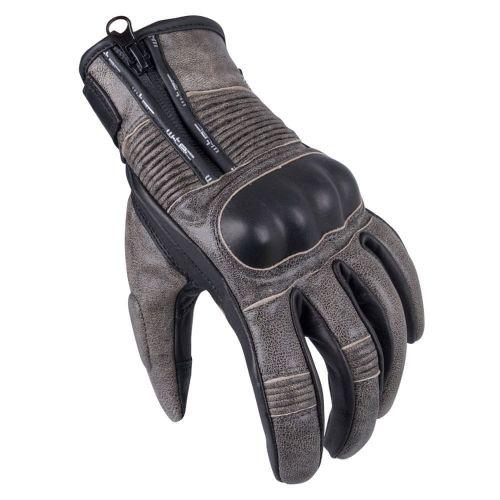 W-TEC Pánské moto rukavice Davili - barva černo-hnědá, velikost S