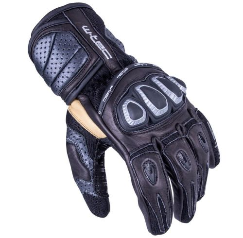 W-TEC Pánské moto rukavice Crushberg - barva černá, velikost S