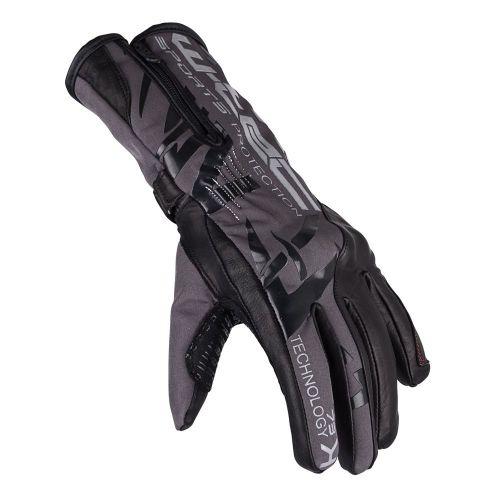 W-TEC Moto rukavice Kaltman - barva černo-šedá, velikost S
