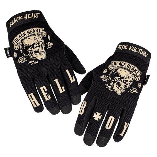 W-TEC Moto rukavice Black Heart Rioter - barva černá, velikost S