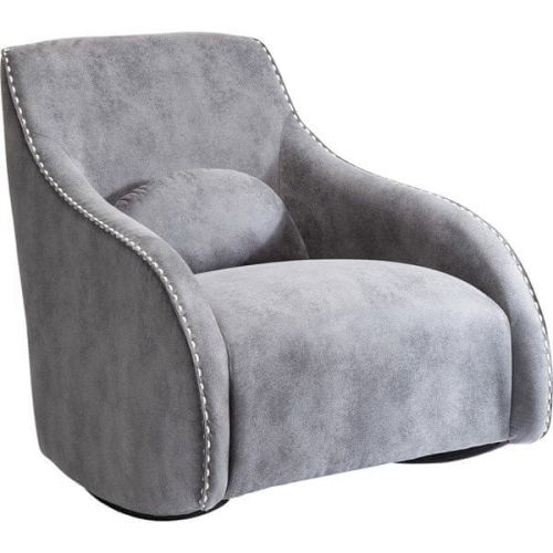 KARE Houpací křeslo Swing Ritmo Vintage Grey