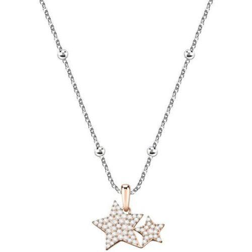 Morellato Bicolor hvězdičkový náhrdelník Love SOR17