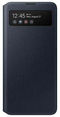 Samsung Flipové pouzdro S View Wallet Cover pro Samsung Galaxy A51 EF-EA515PBEGEU, černé