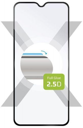 Fixed Ochranné tvrzené sklo Full-Cover pro Motorola E6 Plus FIXGFA-494-BK, lepení přes celý displej, černé
