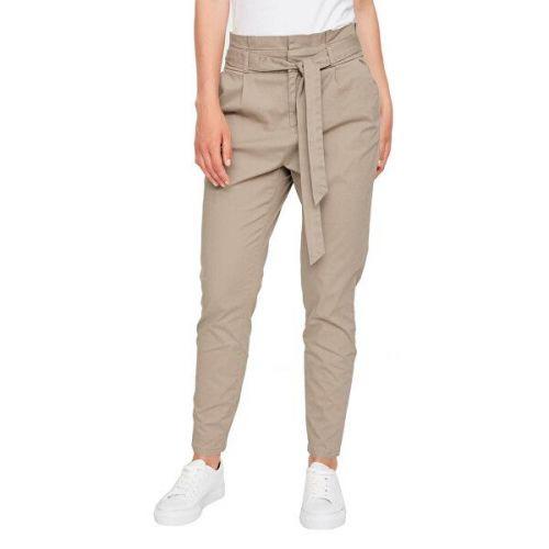 Vero Moda Dámské kalhoty VMEVA 10216704 Silver Mink (Velikost L/30)
