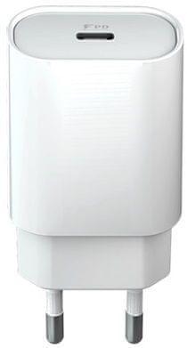 Forever Rychlonabíječka do sítě Core USB-C PD, 18 W, bílá GSM045481