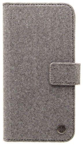 Fixed Univerzální textilní pouzdro Novel pro 5,7″-6,3″ telefony FIXNOV-6-GR, temně šedé