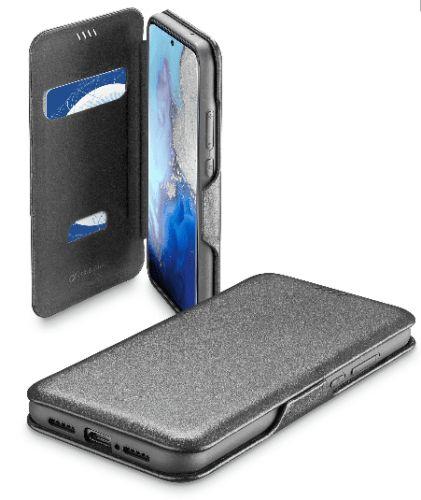 CellularLine Pouzdro typu kniha Book Clutch pro Samsung Galaxy S20, černé (BOOKCLU2GALS11EK)