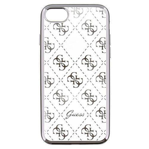 Guess 4G TPU Pouzdro Silver pro iPhone 5/5S/SE, Telefony, hodinky a navigace | Pouzdra a obaly pro Apple