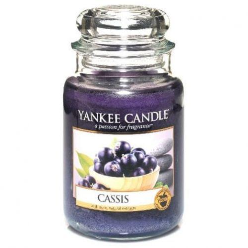 Yankee Candle vonná svíčka Cassis (Černý rybíz) 623g