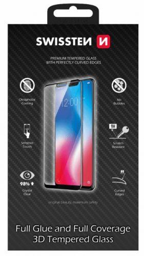 SWISSTEN Sklo Ultra durable 3D Full Glue Glass Apple iPhone XR, černé (64701799)