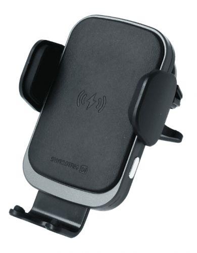 SWISSTEN Smart držák do ventilace auta s bezdrátovým nabíjením 15W S-Grip W2-AV5 (65010606)
