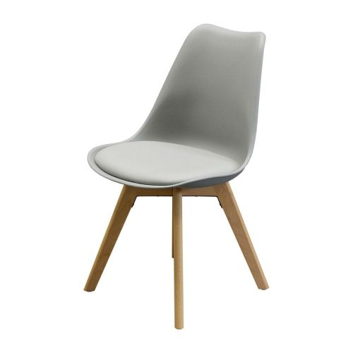 IDEA nábytek Jídelní židle QUATRO šedá