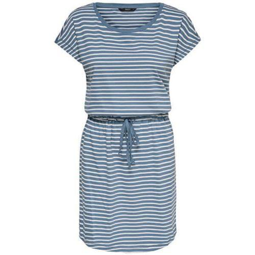 ONLY Dámské šaty ONLMAY 15153021 Blue Mirage THIN STRIPE CLOUD DANCER (Velikost XS)