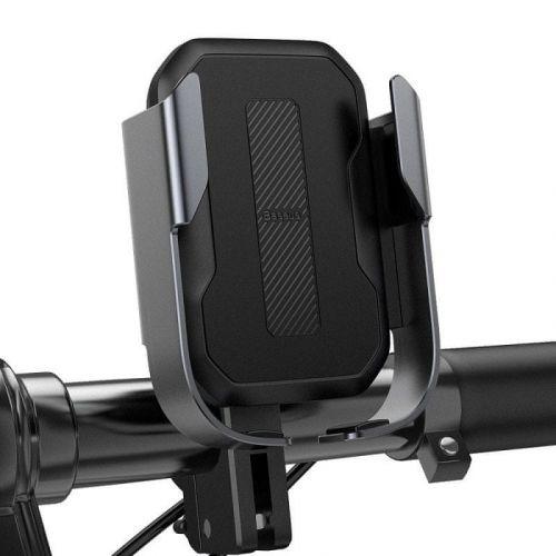 BASEUS Armor držák na mobil na bicykel, černý