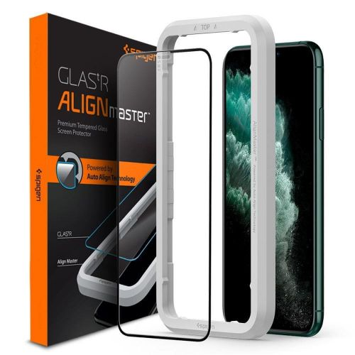 Spigen Glas.Tr Full Cover tvrzené sklo na iPhone 11 Pro / XS / X
