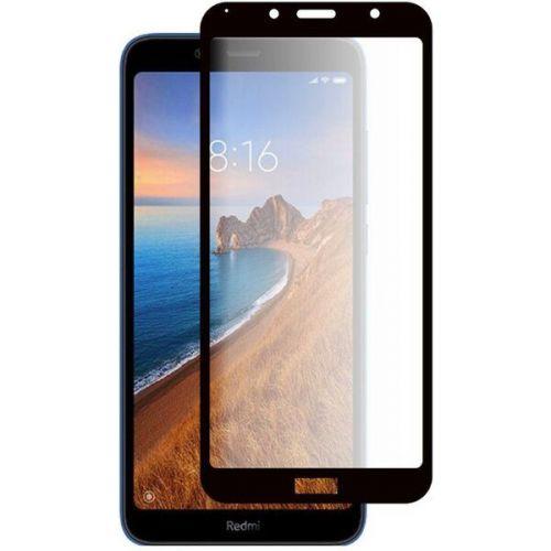 MG 5D Full Glue tvrzené sklo na Xiaomi Redmi 7A, černé