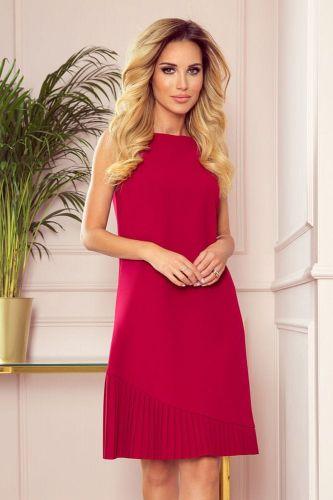 Numoco Dámské šaty 308-2 Karine, červená, S