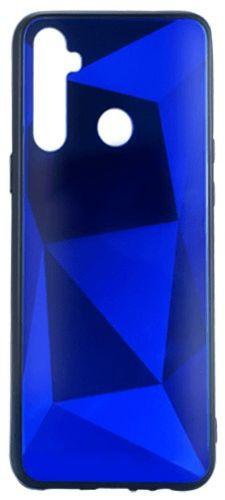 EPICO COLOUR GLASS CASE pro Realme 5 46610151600001, modrá