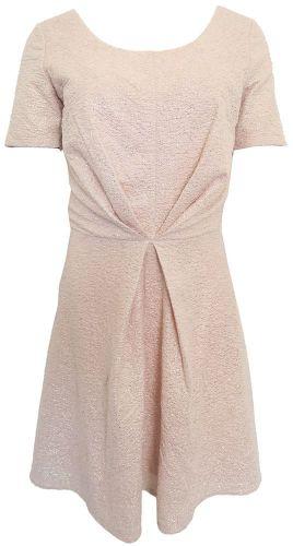 Morgan Pudrové třpytivé šaty Morgan Růžová S