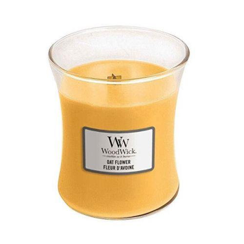 Woodwick Vonná svíčka váza Oat Flower 275 g